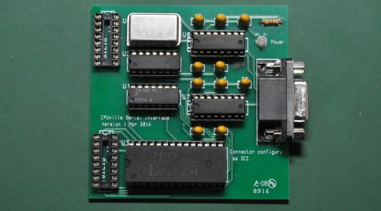 Cpuville Z80 Computer – Serial Communication Interface