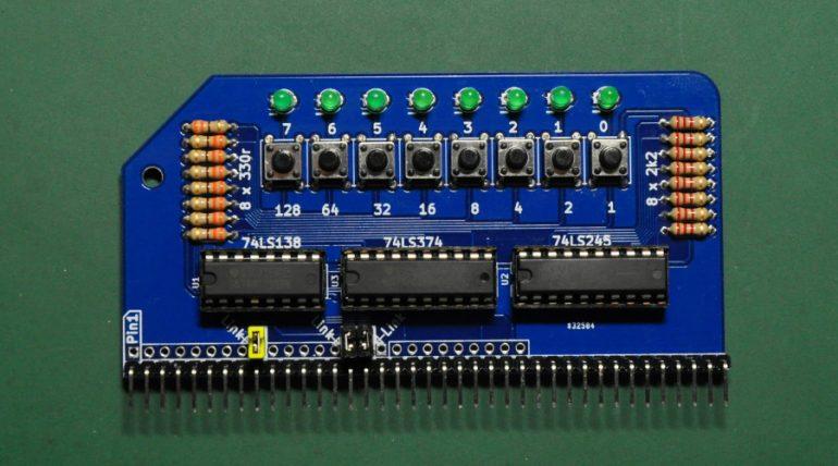 RC2014 Z80 Computer – Digital I/O Module V2.0